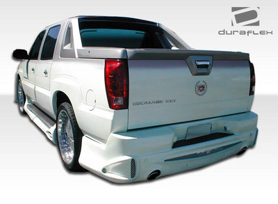 Cadillac Escalade Platinum Duraflex Rear Body Kit Bumper 2002-2006