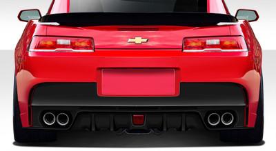 Chevy Camaro GT Concept Duraflex Rear Body Kit Bumper 2014-2015