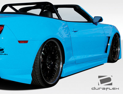 Chevy Camaro Tjin Duraflex Side Skirts Body Kit 2010-2015