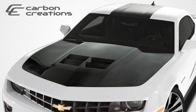 Chevy Camaro ZL1 Look Carbon Fiber Creations Body Kit- Hood 2010-2015