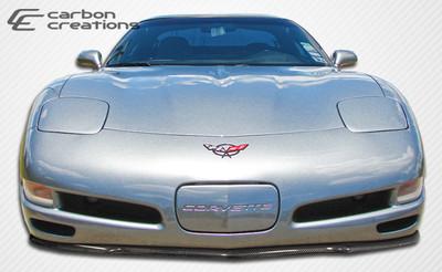 Chevy Corvette C5R Carbon Fiber Creations Front Bumper Lip Body Kit 1997-2004