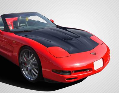 Chevy Corvette GT Concept Carbon Fiber Creations Body Kit- Hood 1997-2004