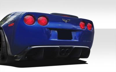 Chevy Corvette GT Racing Duraflex Rear Diffuser 2005-2013