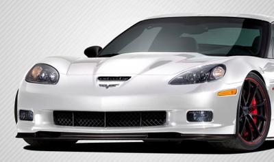 Chevy Corvette GT500 Carbon Fiber Creations Front Bumper Lip Body Kit 2005-2013