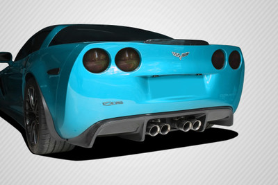 Chevy Corvette GT500 Carbon Fiber Creations Rear Diffuser 2005-2013