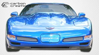 Chevy Corvette Vortex Carbon Fiber Creations Front Bumper Lip Body Kit 1997-2004