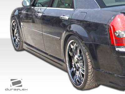 Chrysler 300 Brizio Duraflex Side Skirts Body Kit 2005-2010