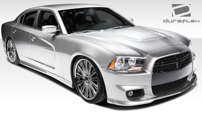 Dodge Charger SRT Look Duraflex Full 6 Pcs Body Kit 2011-2014