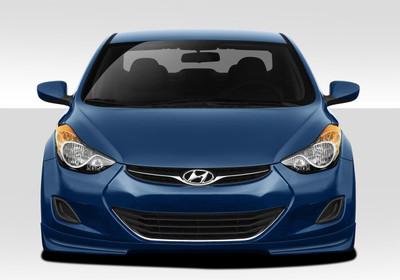Fits Hyundai Elantra Racer Duraflex Front Bumper Lip Body Kit 2011-2015