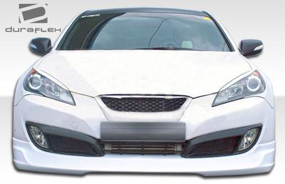 Fits Hyundai Genesis 2DR MS-R Duraflex Front Bumper Lip Body Kit 2010-2012