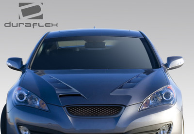 Fits Hyundai Genesis 2DR RS-1 Duraflex Body Kit- Hood 2010-2012