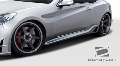 Fits Hyundai Genesis 2DR TP-R Duraflex Side Skirts Body Kit 2010-2015