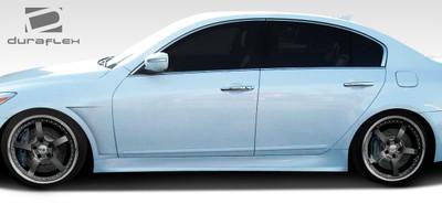 Fits Hyundai Genesis 4DR Executive Duraflex Side Skirts Body Kit 2009-2014