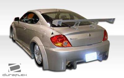 Fits Hyundai Tiburon Poison Duraflex Fender Flares 2003-2006