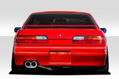 Fits Nissan 240SX 2DR Supercool Duraflex Rear Body Kit Bumper 1989-1994