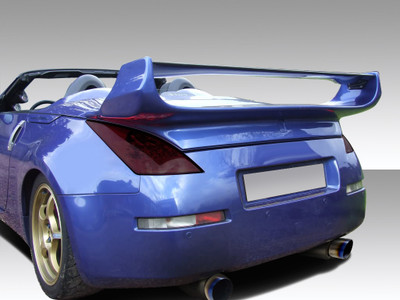 Fits Nissan 350Z Convertible Vader 3 Duraflex Body Kit-Wing/Spoiler 2003-2008