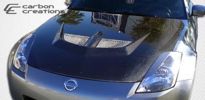 Fits Nissan 350Z Evo Carbon Fiber Creations Body Kit- Hood 2003-2006