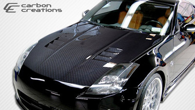 Fits Nissan 350Z JGTC Carbon Fiber Creations Body Kit- Hood 2003-2006