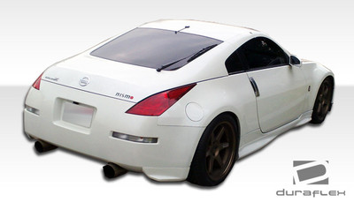 Fits Nissan 350Z N-1 Duraflex Rear Add On Body Kit Bumper 2003-2008