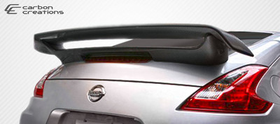 Fits Nissan 370Z 2DR N-2 Carbon Fiber Creations Body Kit-Wing/Spoiler 2009-2015
