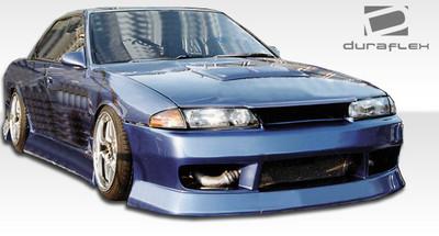 Fits Nissan Skyline 4DR B-Sport Duraflex Front Body Kit Bumper 1989-1994