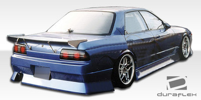 Fits Nissan Skyline 4DR B-Sport Duraflex Side Skirts Body Kit 1989-1994