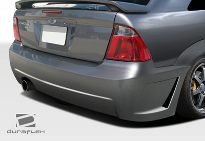 Ford Focus 4DR B-2 Duraflex Rear Body Kit Bumper 2005-2007