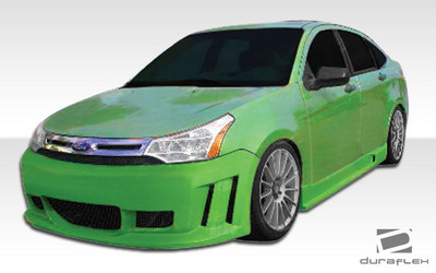 Ford Focus 4DR Piranha Duraflex Full Body Kit 2008-2011