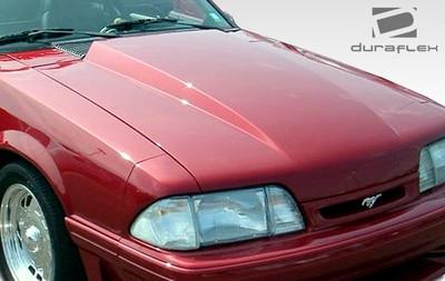 Ford Mustang Cowl Duraflex Body Kit- Hood 1987-1993