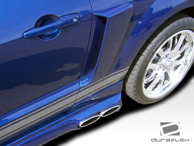 Ford Mustang CVX Side Duraflex Scoop 2005-2009