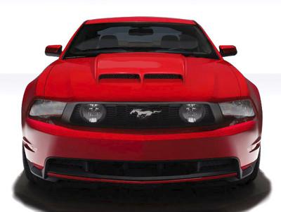 Ford Mustang CV-X Version 2 Duraflex Body Kit- Hood 2010-2012
