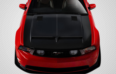 Ford Mustang GT500 Carbon Fiber Creations Body Kit- Hood 2010-2012