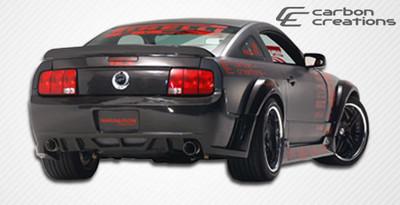 Ford Mustang Hot Wheels Carbon Fiber Rear Wide Body Kit Bumper 2005-2009