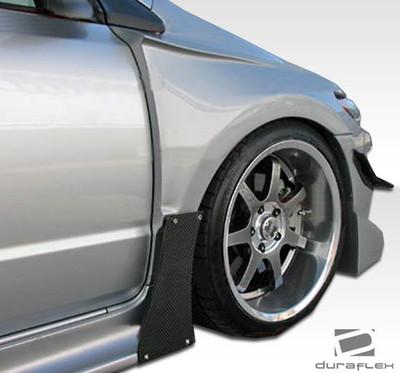 Honda Civic 2DR GT500 Duraflex Body Kit- Wide Fenders 2006-2011