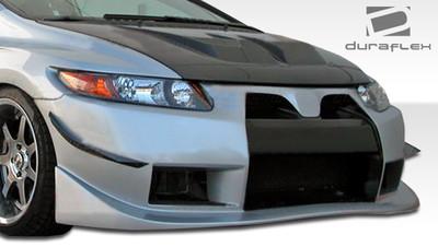 Honda Civic 2DR GT500 Duraflex Front Wide Body Kit Bumper 2006-2011