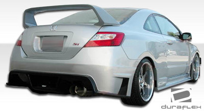 Honda Civic 2DR GT500 Duraflex Rear Wide Body Kit Bumper 2006-2011