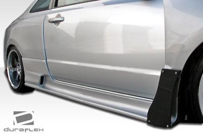 Honda Civic 2DR GT500 Duraflex Side Skirts for Wide Body Kit 2006-2011