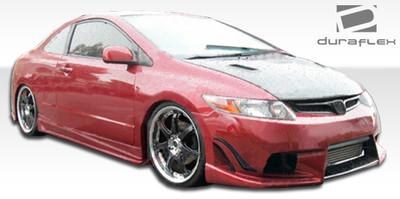 Honda Civic 2DR Sigma Duraflex Full 4 Pcs Body Kit 2006-2011