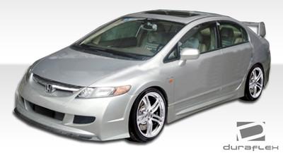 Honda Civic 4DR R-Spec Duraflex Front Body Kit Bumper 2006-2011
