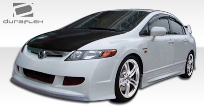 Honda Civic 4DR R-Spec Duraflex Full 4 Pcs Body Kit 2006-2011