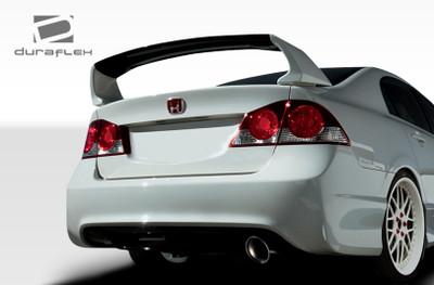Honda Civic 4DR Type R Duraflex Rear Body Kit Bumper 2006-2011