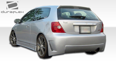 Honda Civic HB B-2 Duraflex Rear Body Kit Bumper 2002-2005