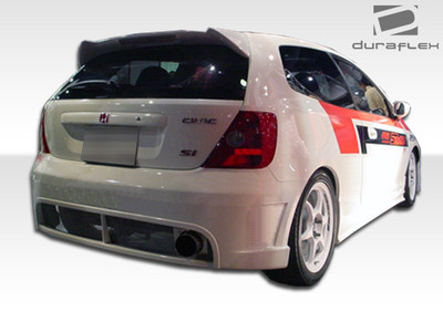 Honda Civic HB Buddy Duraflex Rear Body Kit Bumper 2002-2005