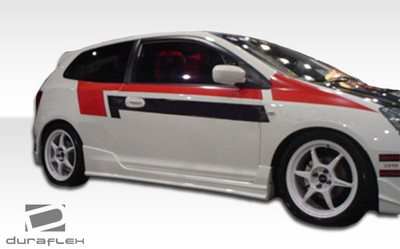 Honda Civic HB Buddy Duraflex Side Skirts Body Kit 2002-2005