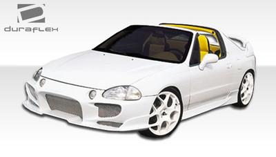 Honda Del Sol Aggressive Duraflex Front Body Kit Bumper 1993-1997