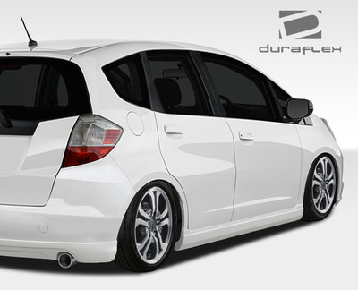 Honda Fit A-Spec Duraflex Side Skirts Body Kit 2009-2013