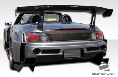 Honda S2000 AM-S Duraflex Rear Wide Body Kit Bumper 2000-2009