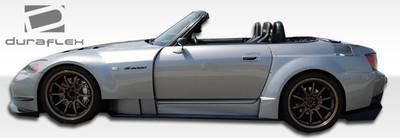 Honda S2000 AM-S Duraflex Side Skirts for Wide Body Kit 2000-2009