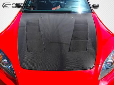 Honda S2000 TS-1 Carbon Fiber Creations Body Kit- Hood 2000-2009