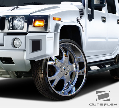 Hummer H2 BR-N Duraflex Body Kit- Fenders 2003-2009